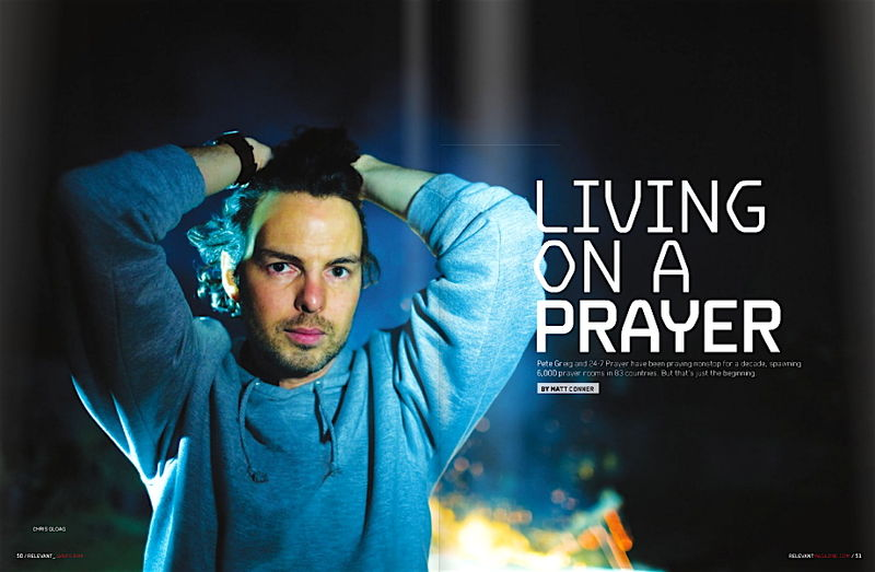 Pete Greig - Living on a prayer