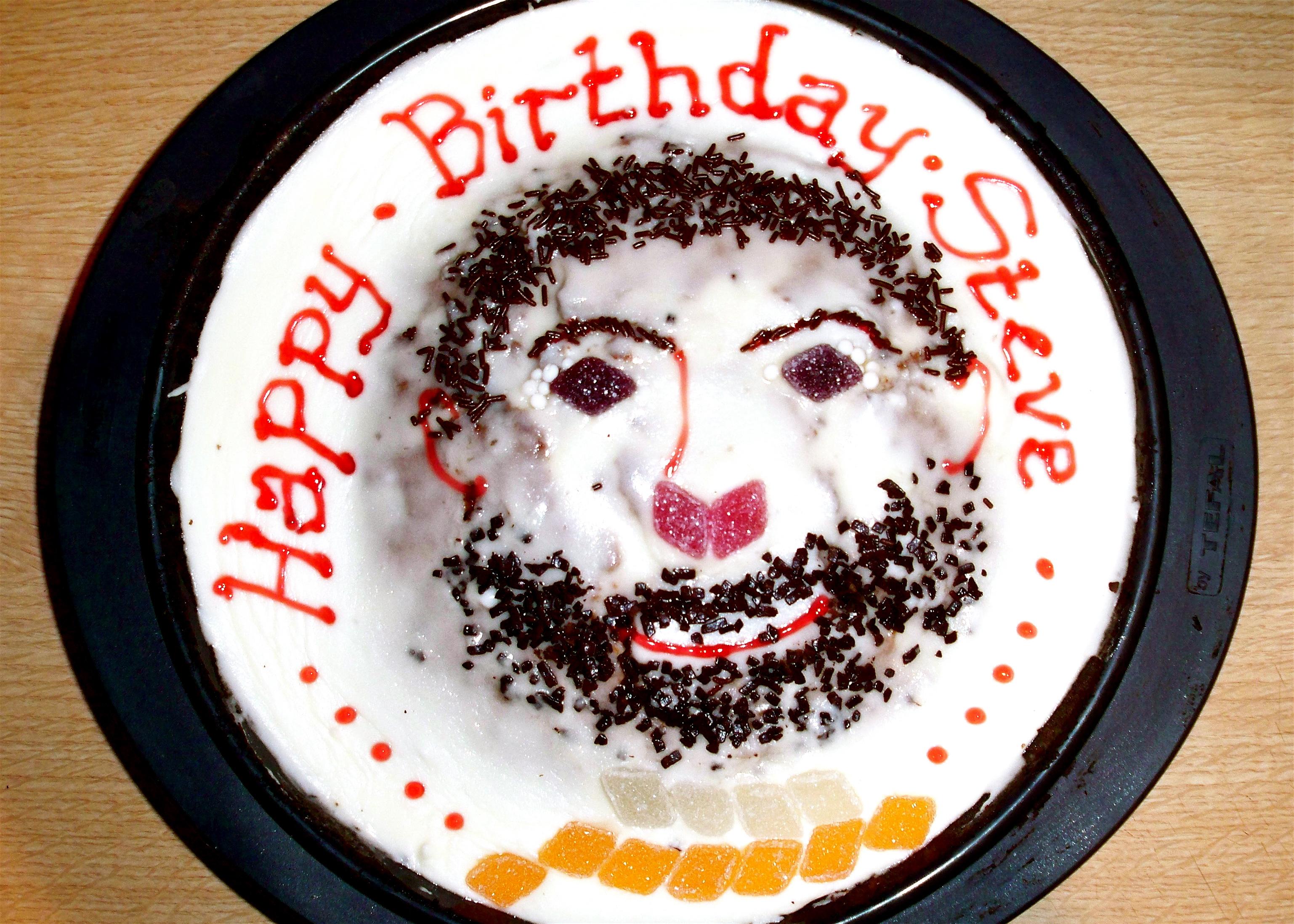 Amazed Confused Happy Birthday Steve