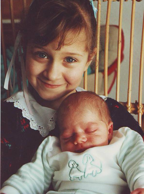 Carla 7.5yrs & Adam