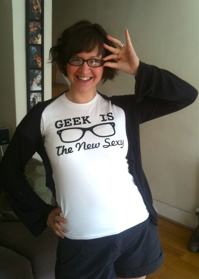 Carla Geek is the new sexy tshirt